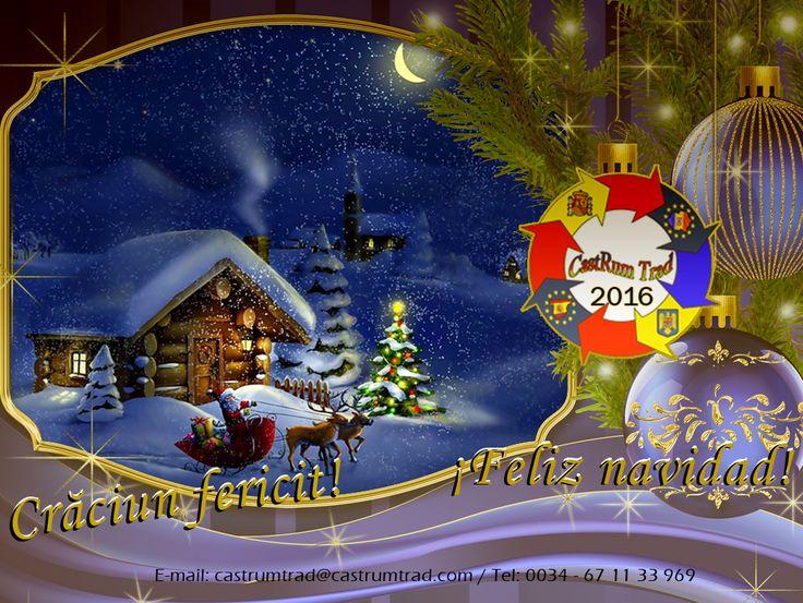 """*** Crăciun fericit! *** ¡Feliz Navidad! *** Merry Christmas! ***  """"E sărbătoare! Bucurați-vă de pace, lumină si căldură alături de cei dragi vouă. Dăruiți din toată inima și deschideți-vă sufletul pentru a primi dragoste și fericire. Lasăți-vă sufletul să renască și trăiți fiecare zi ca pe un dar neprețuit."""" - (anonim)  """"La Navidad no es un momento ni una estación, sino un estado de la mente. Valorar la paz y la generosidad es comprender el verdadero significado de Navidad."""" – Calvin…"""