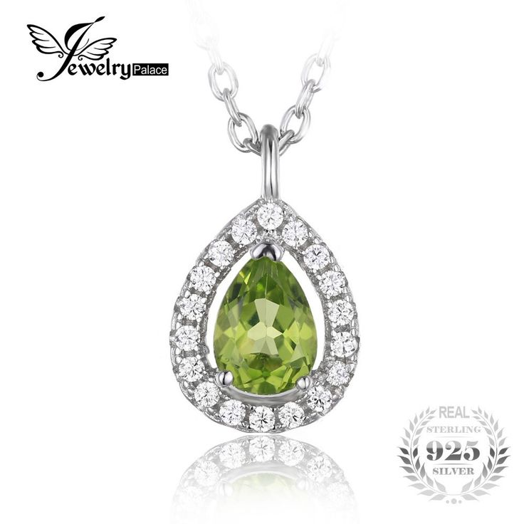 925 Sterling Silver Solitaire Pendant Necklace 18 Inches Women's Silver Necklace
