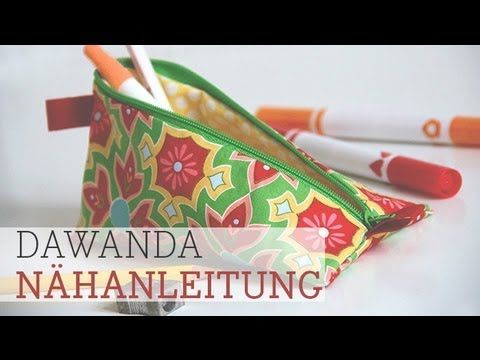 DaWanda Nähschule: Mäppchen für Stifte & Co.   pattydoo Blog