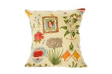 Viva La Frida - cushion (cream/taupe)