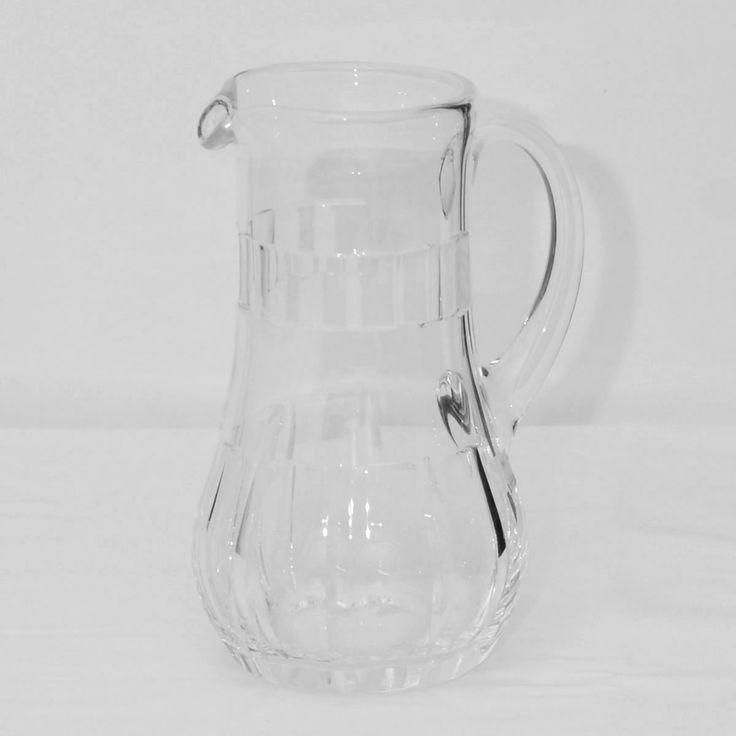 Que linda jarra de cristal tallada! #clerico #jar #ideasforcocktails #cocktails #summer