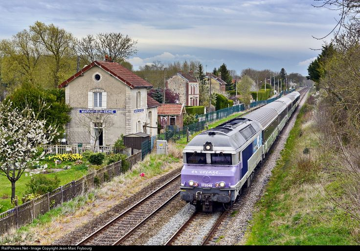 CC 72049 SNCF CC 72000 at Marnay-sur-Seine, France by Jean-Marc Frybourg