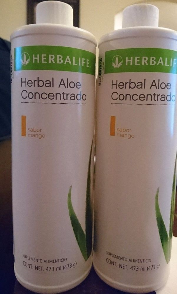 2 New Herbalife Herbal Aloe Concentrate Mango Free Ship Exp 11 2021 Meal Replacement Drinks Digestive Health Recipes Herbalife