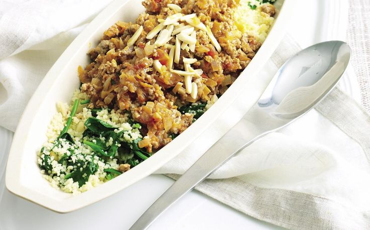 Packed full of flavour, this pork and couscous dish is wonderfully fragrant and perfect for a quick, tasty weeknight dinner.
