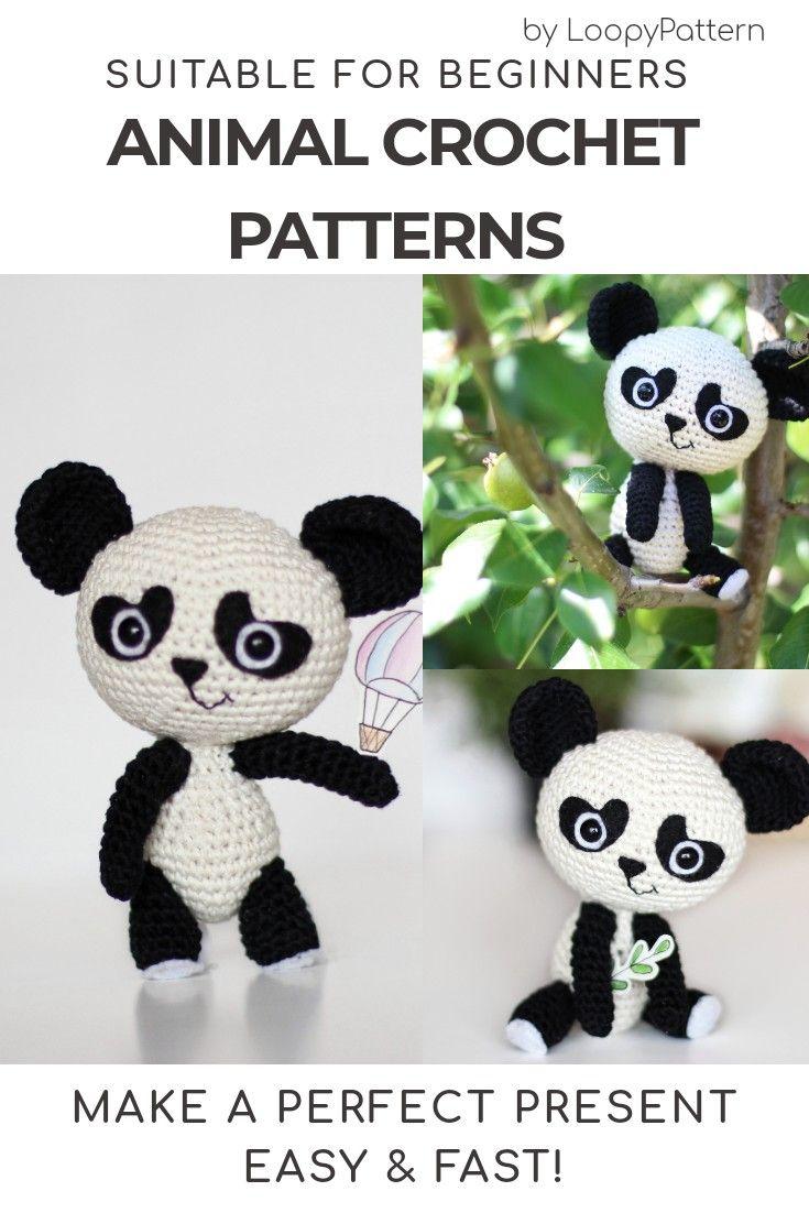 Free Pattern: Chen the Panda Bear with Furls Crochet – Storyland Amis   1102x735