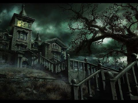 Château Hanté et Sons Effrayants dans l'Obscurité • Haunted Castle and Scary Sounds in Darkness (HD) - YouTube