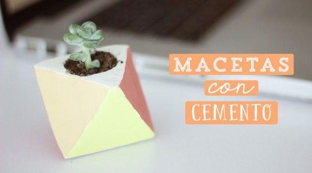 17 best images about decoracion para el jardin on for Macetas de cemento