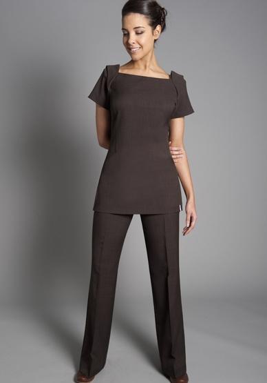 L24chocolate for Spa uniform grey