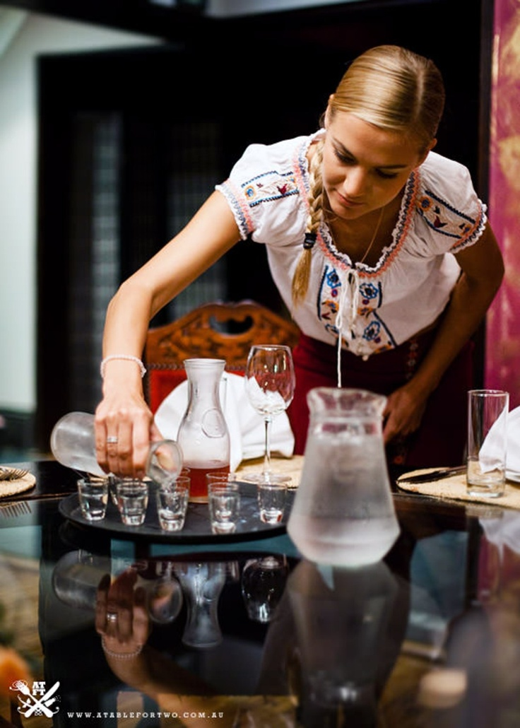 The Russian Coachmen Restaurant - Surry Hills, NSW (A Table For Two) {Polar Bear Russian Vodka + House Made Plum Vodka}