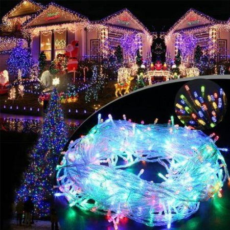 17 best christmas light strings images on pinterest window fenti 1000 led bulb 656 ft fairy light string window curtain icicle lighting for christmas thanksgiving party wedding garden outdoor decoration us plug aloadofball Images