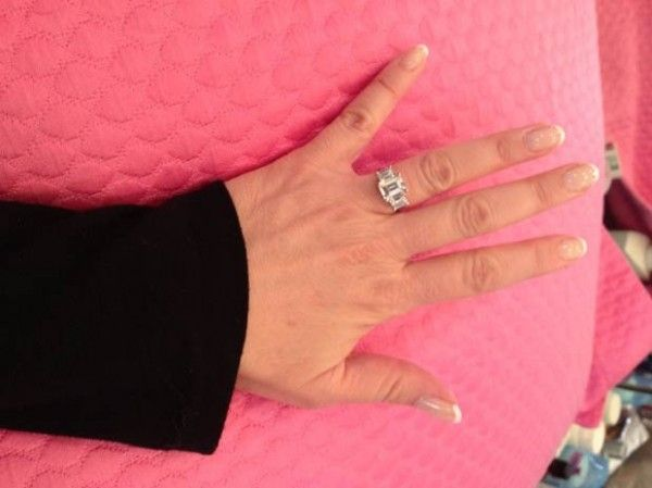 Jeanie Buss Engagement Ring