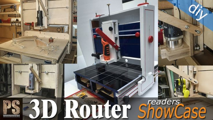 3D Router Readers Projects