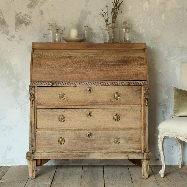 17 best images about vintage secretary desks on pinterest shabby chic secretary desk with. Black Bedroom Furniture Sets. Home Design Ideas
