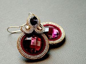 Beautiful underside to sutazhnym earrings |