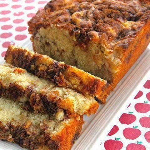 Easy Recipes to Do: Apple Cinnamon Loaf