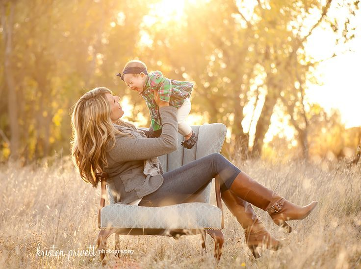 country baby photography with mum - Google Search