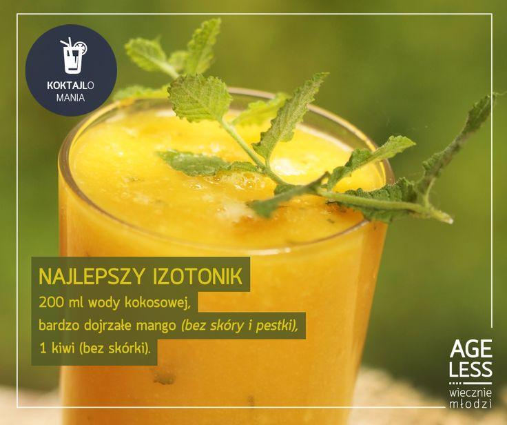 Woda kokosowa, składnik orzechów kokosowych, z racji dużej zawartości elektrolitów, doskonale sprawdza się jako orzeźwiający i izotoniczny napój. Mango w proponowanym dziś koktajlu doda Wam kolejnej energii. Idealna propozycja na lato! :) #ageless #wieczniemlodzi #wiecznamlodosc #koktajl #mango #kokosy #energia #lato www.ageless.pl