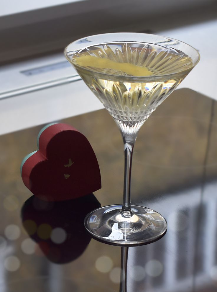 e8b39e0ba40d Great drinks can complement your meal and allow you to impress your  valentine by showing off your cocktail mixing skills. ———— VESPER ...