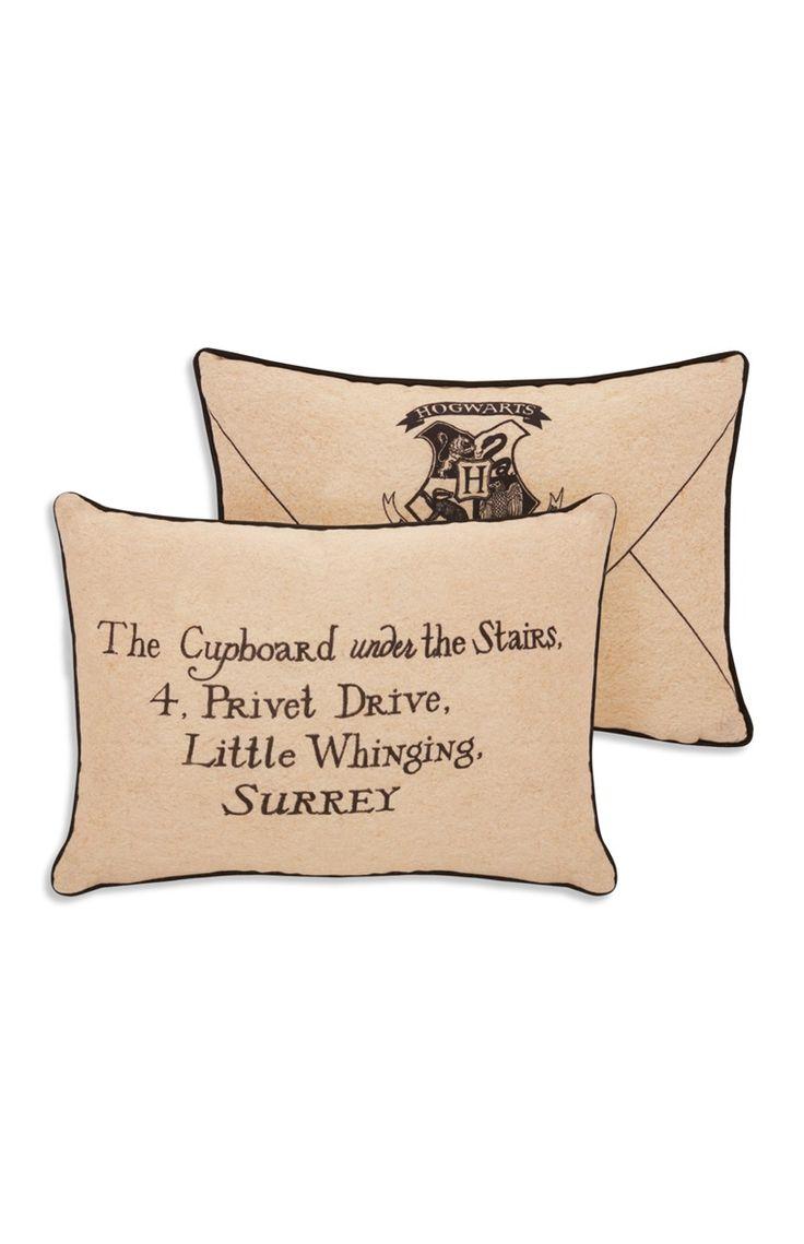 Primark - Harry Potter Letter Shaped Cushion