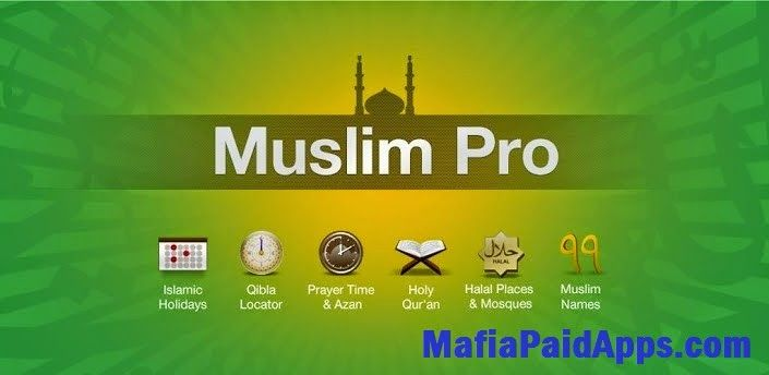Muslim Pro AzanQuranQibla v9.2.7 Apk for android Apk   The most popular Muslim appRecognized by more than 30 million Muslims around the world as the most accurate prayer time & azan application Muslim Pro also features the full Quran with Arabic scripts phonetics translations and audio recitations as well as a Qibla locator an Islamic Hijri calendar a map of halal restaurants and Mosques etc...MAIN FEATURES: Accurate prayer times based on your current location with multiple settings…