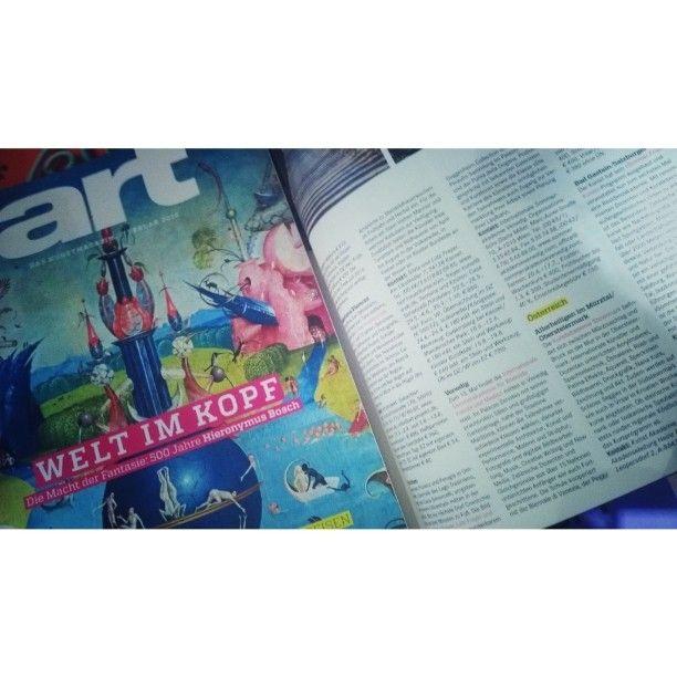 Vielen dank an art magazine! wir freuen uns bereits auf eine inspirierende Sommerakademie in Venedig dieses Jahr!