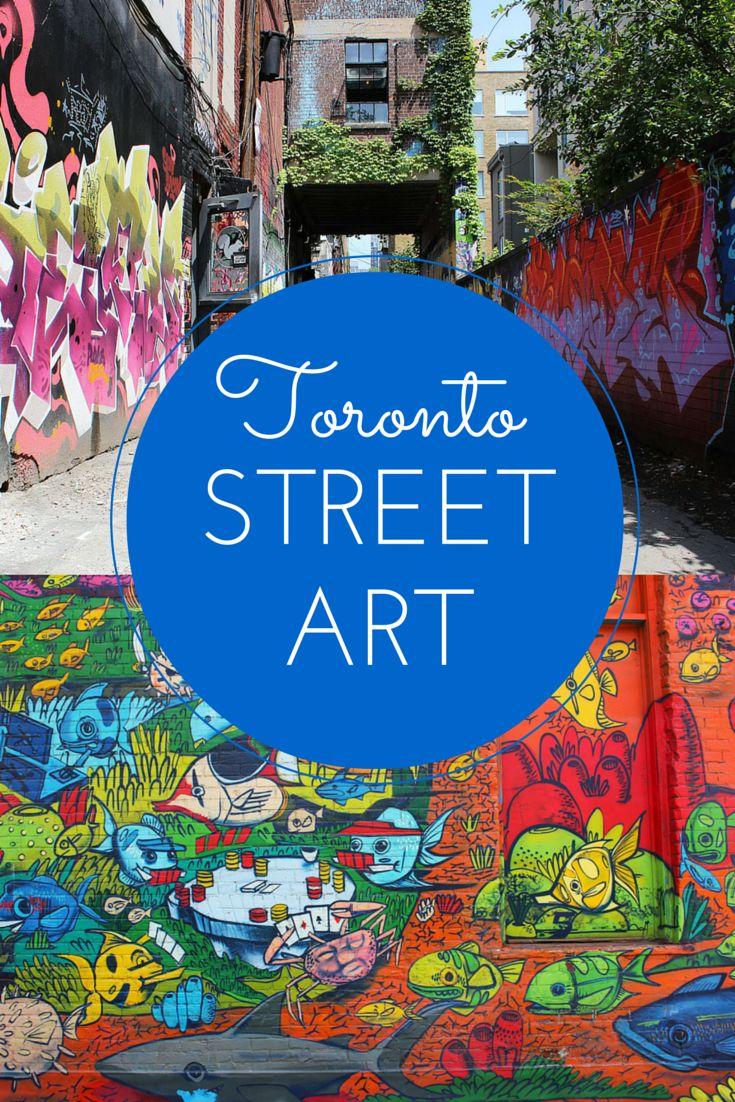 Graffiti Tour in Toronto - Discovering Toronto's Street Art in Graffiti Alley