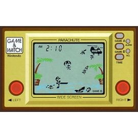Parachute (1981) nintendo Game & Watch : Widescreen Series