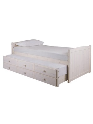 georgie single storage bed with pullout guest bed