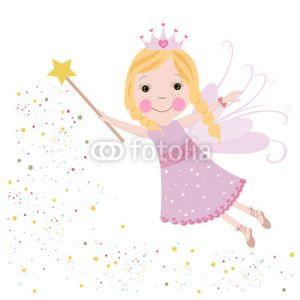 Peri Kızı Vektör Tasarımlarım *  Cute fairy girl