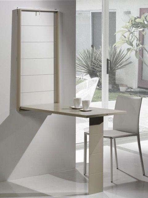 17 mejores ideas sobre mesa abatible en pinterest for Mesas ordenador para espacios pequenos