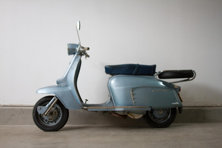 Unrestored TV175 Series III  by Lambretta   #BureauOfTrade
