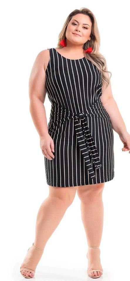 0f7df61c03 Melhores Modelos de Vestido Plus Size - Você sempre na moda ...