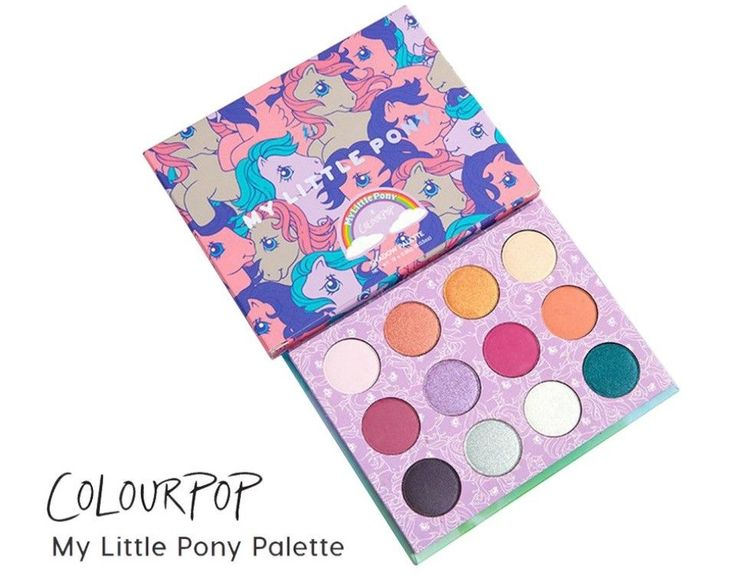 Hot Sale Colour Pop My Little Pony Beauty Fantasy 12 Color Eyeshadow Palette #Unbranded