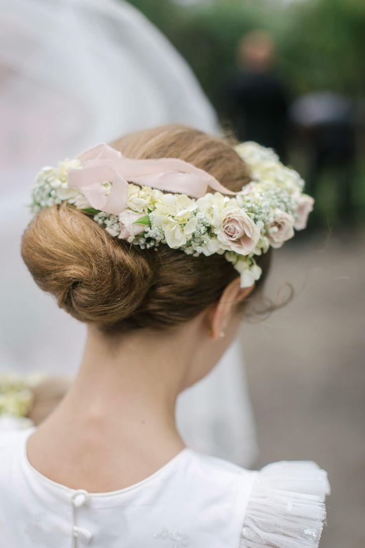 Flower Girl Crown. N+B Wedding.
