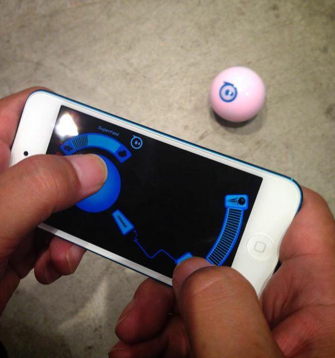 スフィーロのコントロールはスマートフォンで。