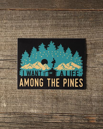 We know you love the wilderness. Now you can express exactly how you feel with this pack of six adventure-themed stickers! These stickers are full-color, perfect for turning your favorite water bottle