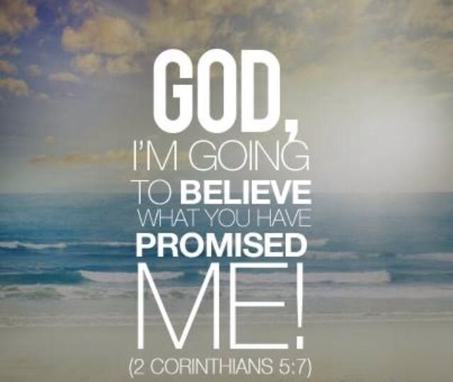 ❥ 2 Corinthians 5:7~  We walk by FAITH and not by sight!!