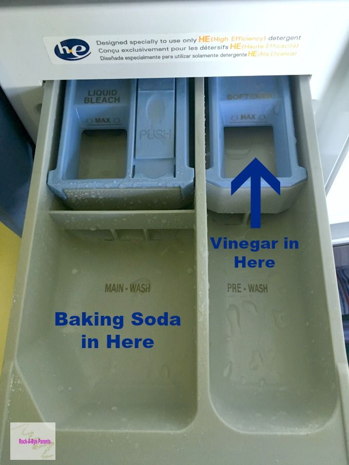 %name How to Safely Wash with Baking Soda and Vinegar Together