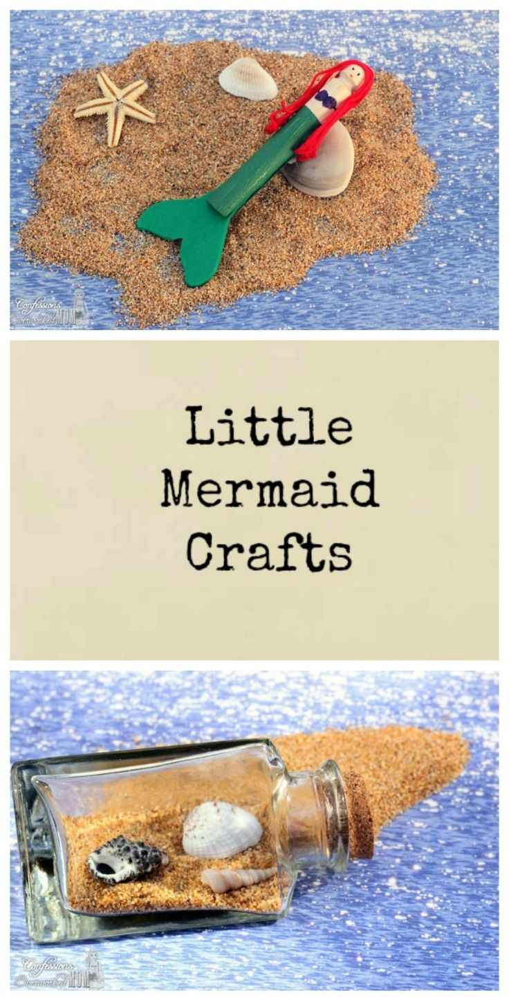 Little Mermaid Crafts