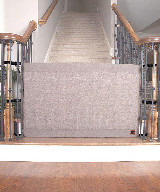 Khaki Stair Barrier Banister To Banister Gate Baby Love