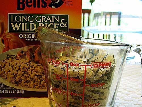 Homemade Long Grain & Wild Rice Mix, without all the preservatives you buy in the box at the store.