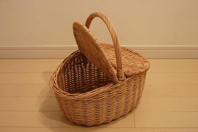 ウィッカー ピクニックバスケット