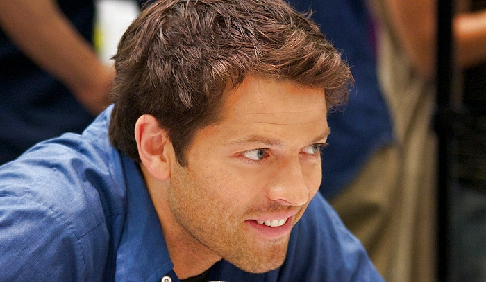 Misha Collins...you sir, are gorgeous.