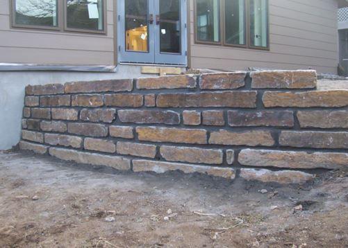 come costruire un muro di pietra