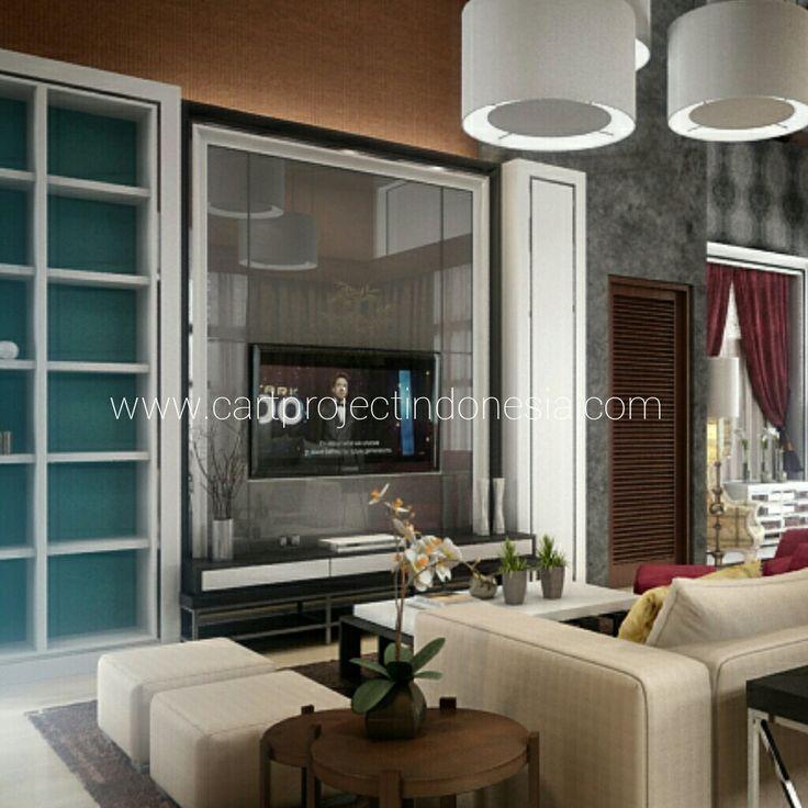 Living Room//Padma House//Jogja City//3D Visualitation/www.cartprojectindonesia