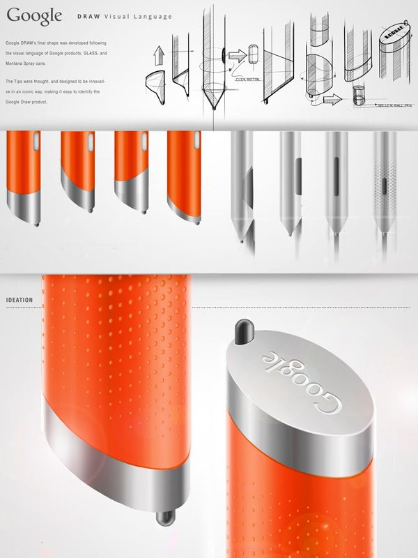 Google DRAW - Stylus for GLASS by Jorge Trevino Blanco » Yanko Design