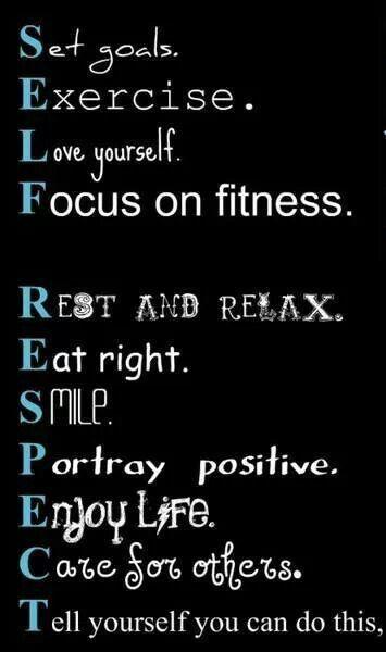 Self Respect                                                       …