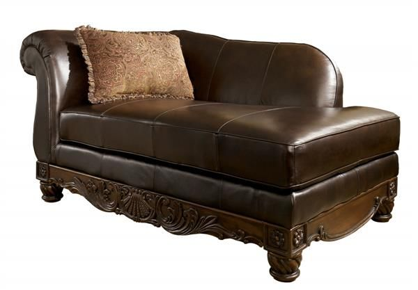 17 best images about brown living room furniture on for Ashley north shore chaise