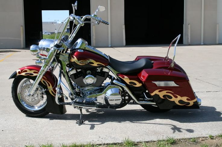 Baggers |  :: David's Road King | Bad Dad | Custom Bagger Parts for Your Bagger