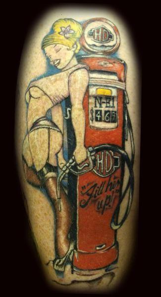 hd pin up girls id9546 harley pinup girl tattoo harley davidson forums santattoos. Black Bedroom Furniture Sets. Home Design Ideas